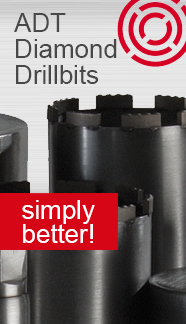 Diamond drillbits by ADT